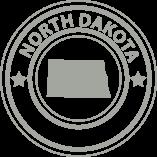 North Dakota State Icon